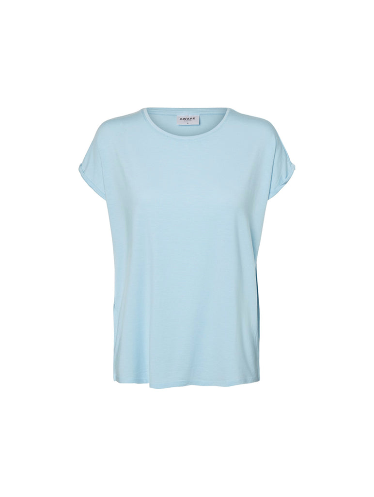Ava Plain Top Cool Blue