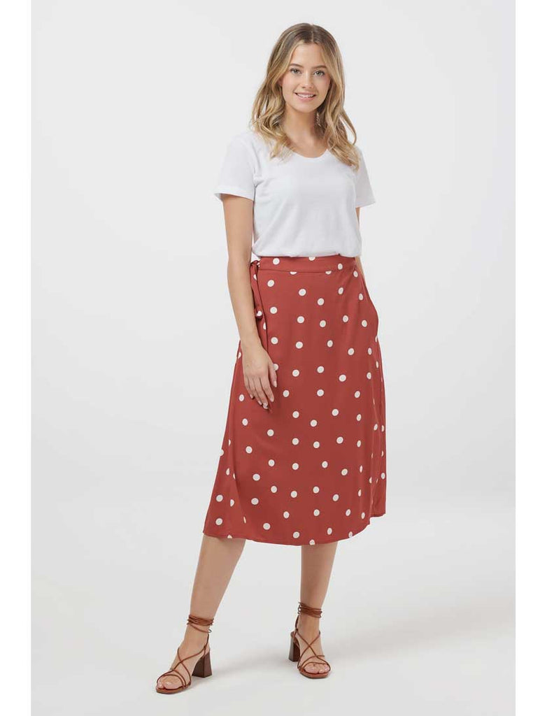 Melinda Polka Dot Skirt