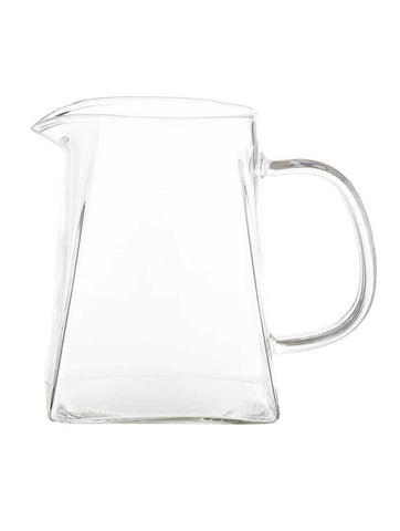 Milk Jug Clear Glass