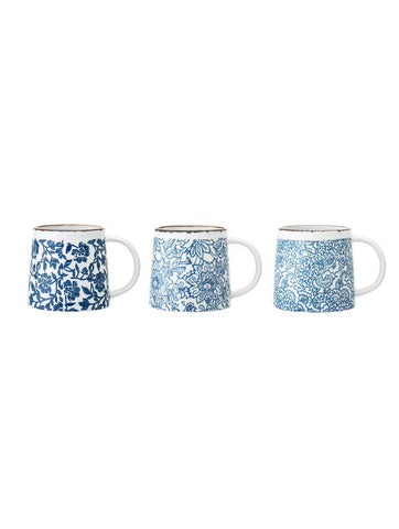 Molly Stoneware Mug Blue