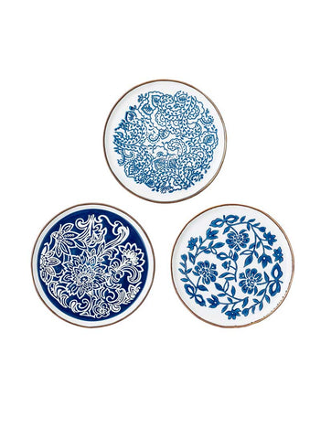 Molly Stoneware Plate Blue