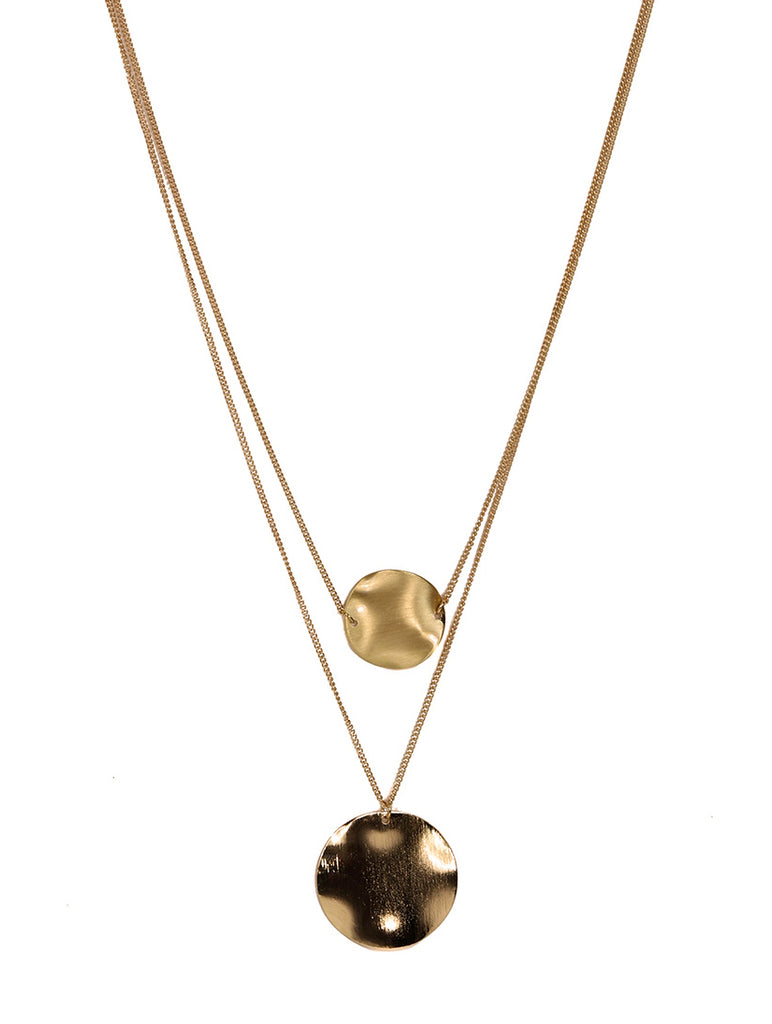 Anouk 2 Layer Necklace Gold