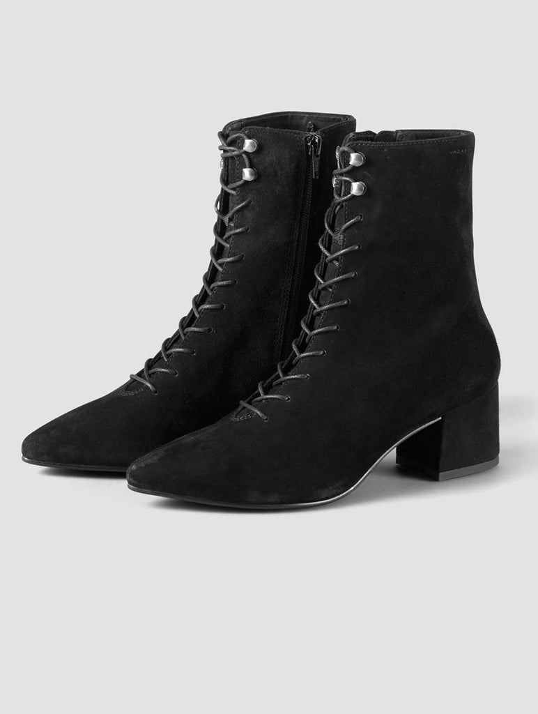 Mya Black Laced Boot