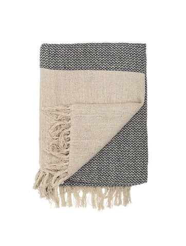 Woven Cotton Mix Throw