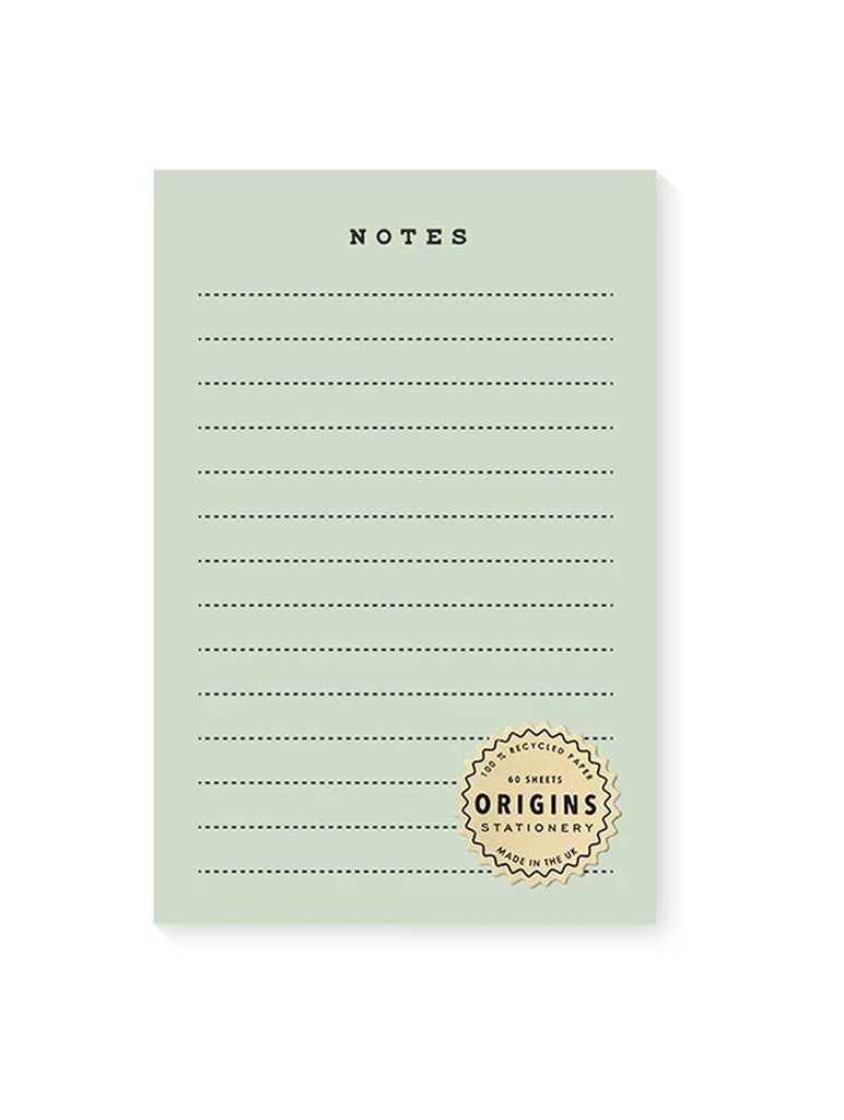 Origins Green Notepad