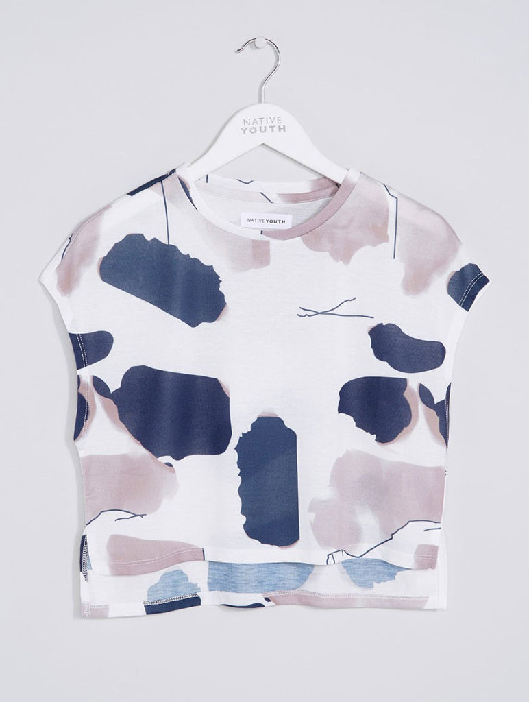 Linear Tint Crop Top