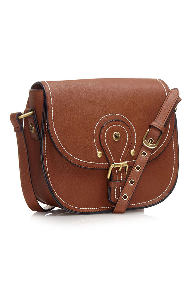 Richie Saddle Bag - Tan