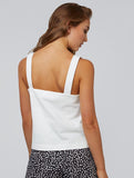 Othille Button Detail Camisole White