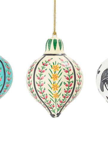 Handpainted Paper Ornament