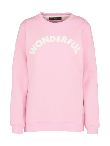 Alanis Wonderful Pink Sweatshirt