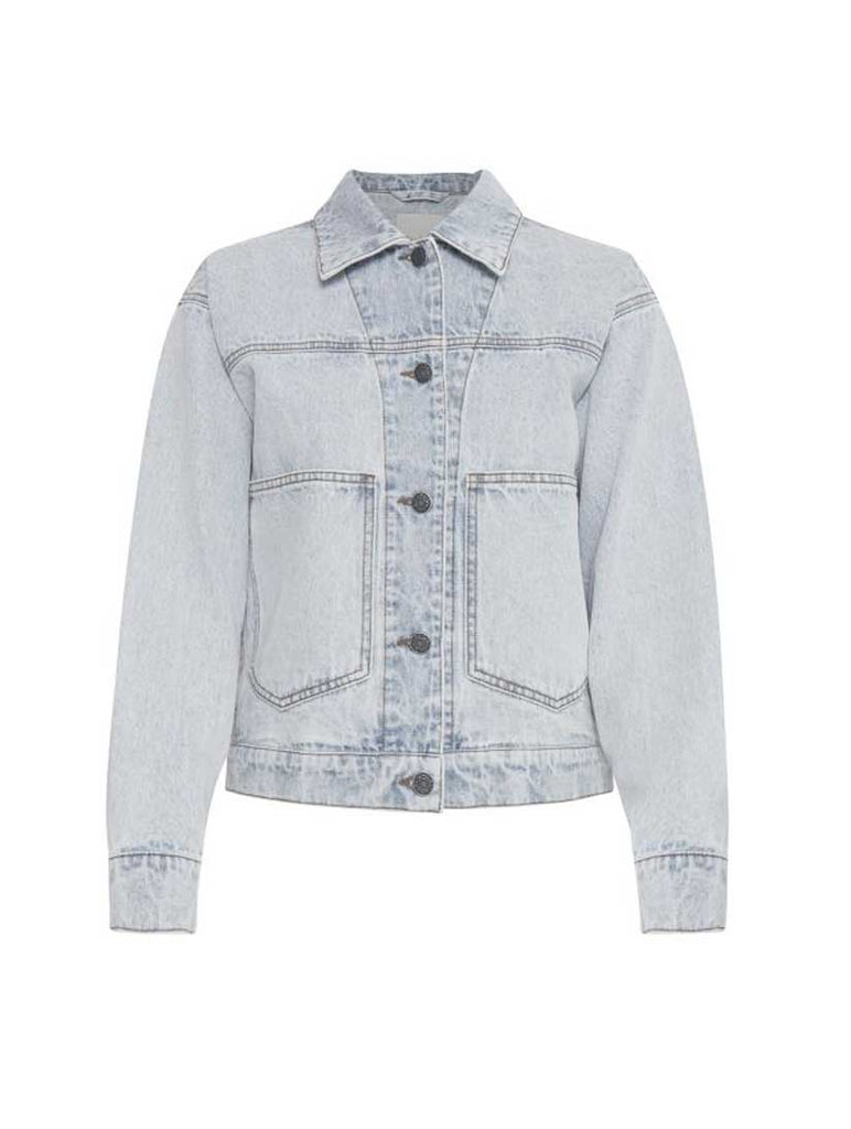 Polly Jacket Bleached Denim