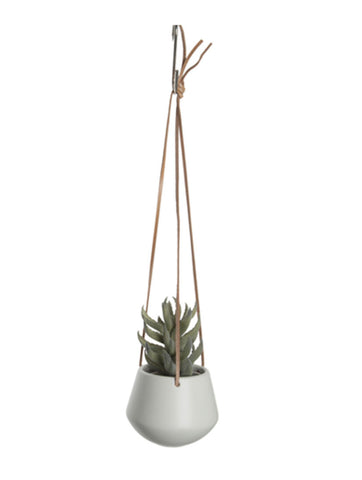 Hanging Pot Small White