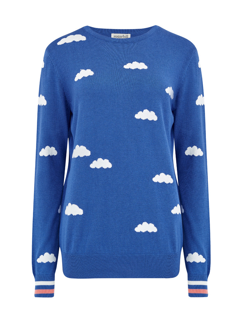 Rita Summer Sky Sweater