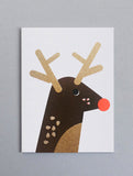 Rudolph Reindeer Mini Card