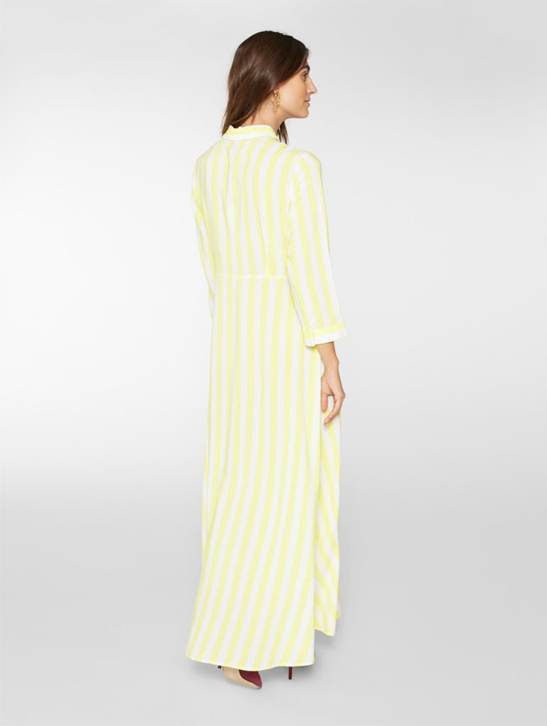 Savanna Dress Yellow Cream