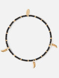 Seedbead Tusk Bracelet Black Gold