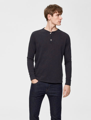 Ben Overdye Split Neck Tee Black Beauty
