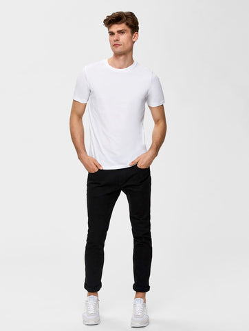 The Perfect Plain Crew Neck Tee Bright White