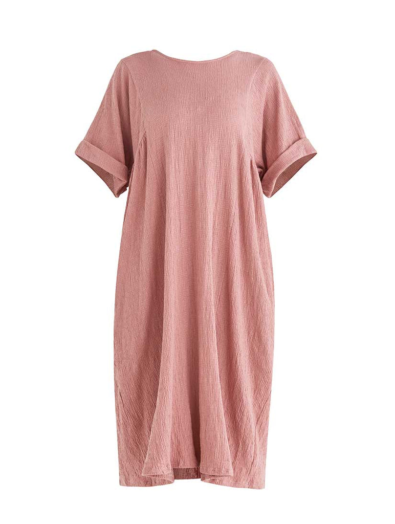 Selsey Relaxed Fit Dress Pink