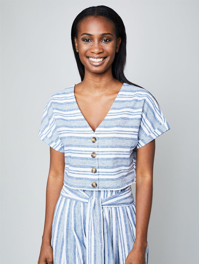 Shemiah Stripe Blouse