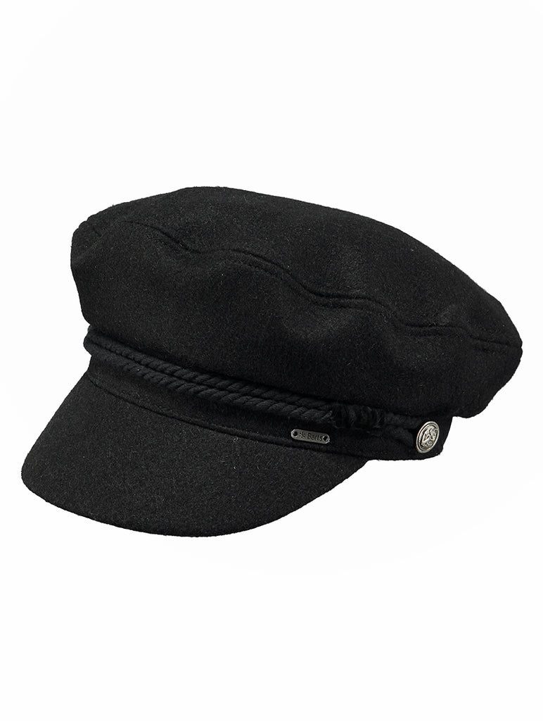 Skipper Cap Black