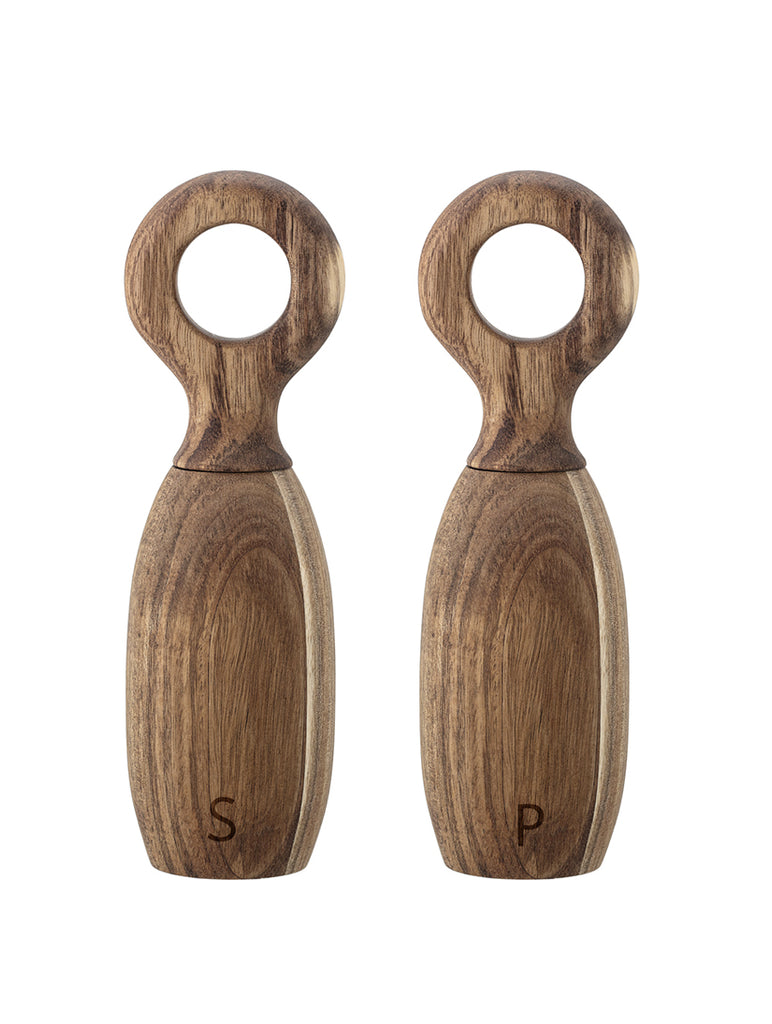 Acacia Wood Salt And Pepper Mill