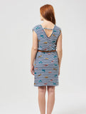 Hetty Leopard Stripe Dress