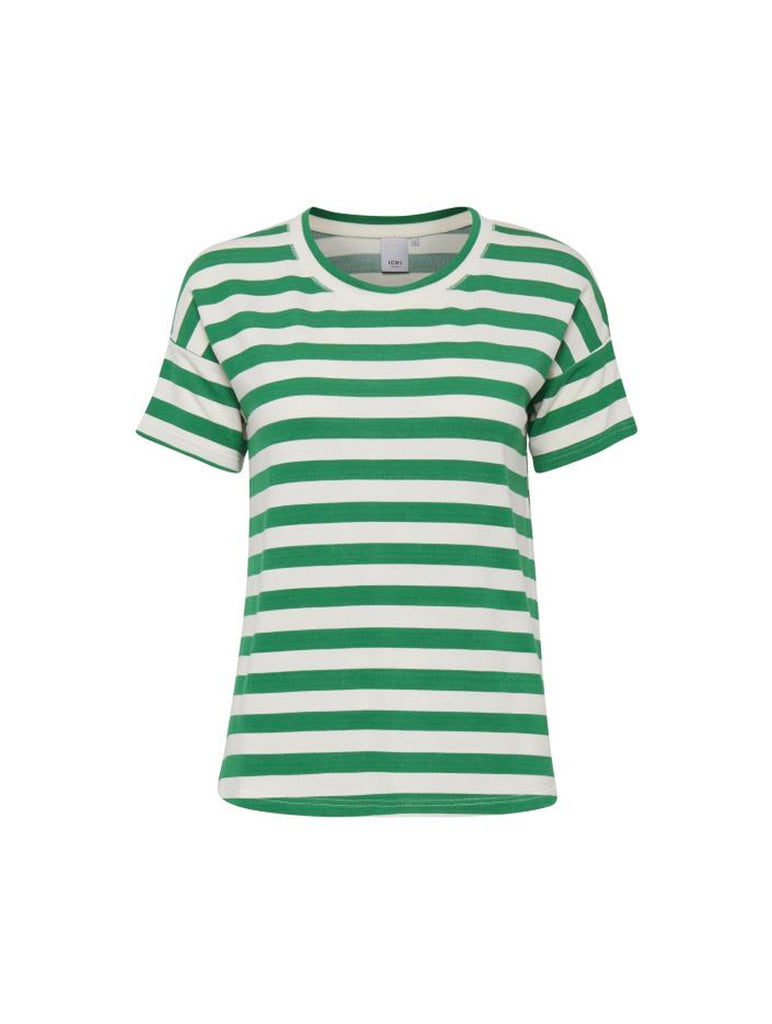 Grass Stripe Tee Jolly Green