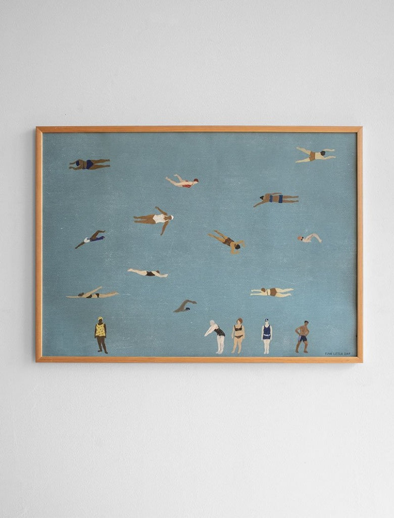 Swimmers Poster 50 x 70cm