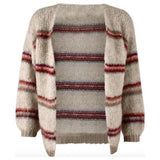 Tanne Knit Wool Mix Cardigan