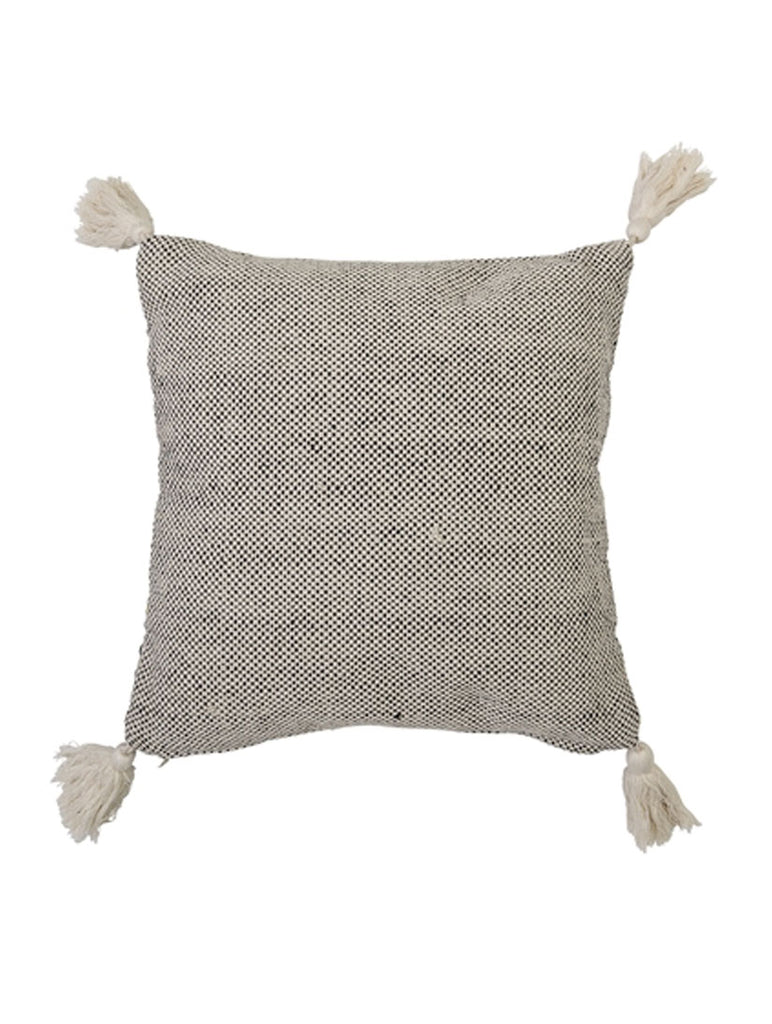 Tassel Corner Natural Coloured Cushion