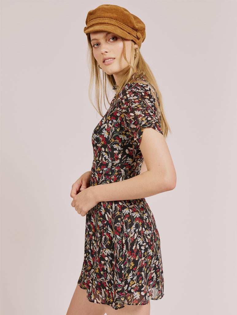 Tatianna Harvest Floral Printed Dress