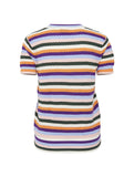 Tinne Short Sleeve Stripe Top