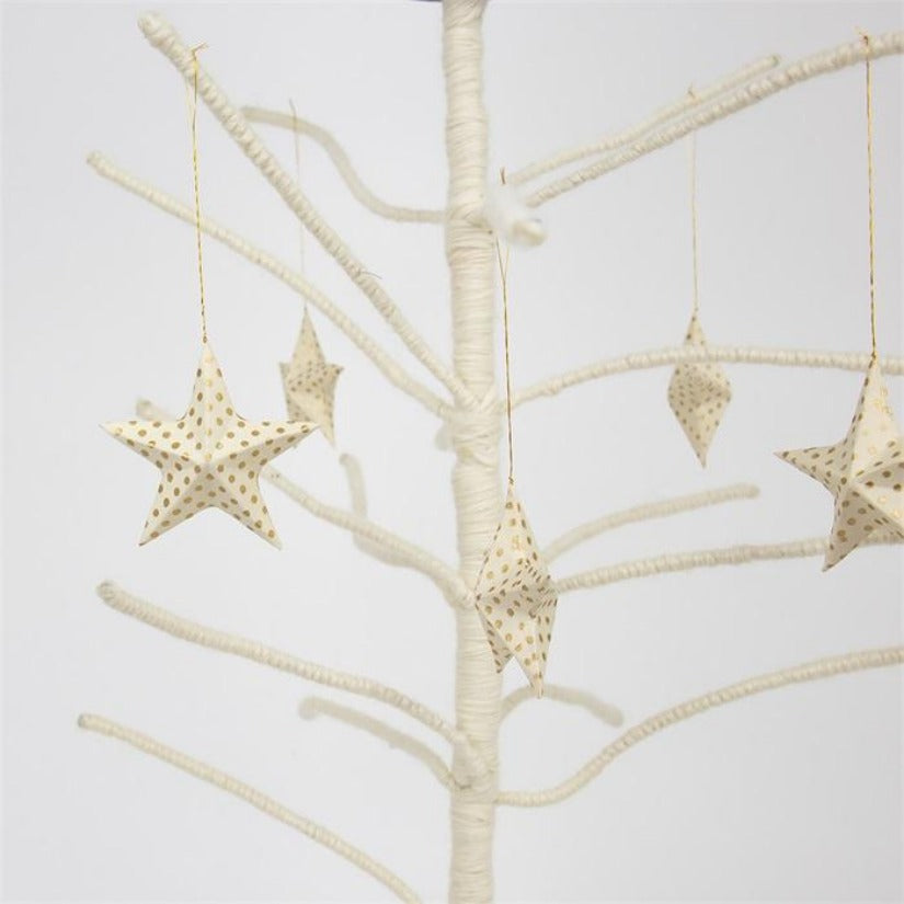 Top Pendant Star Decoration 6 pack