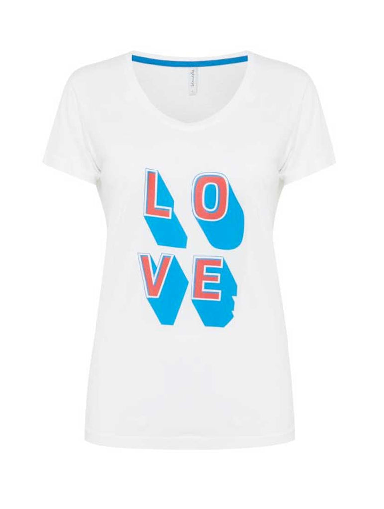 Uzma Love Slogan Tee