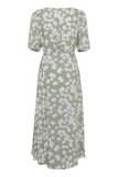 Vera Dress Hedge Green