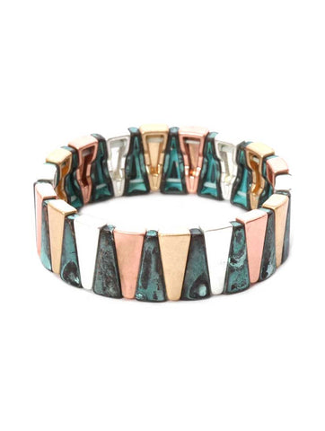 Wide Stretch Multi Bracelet
