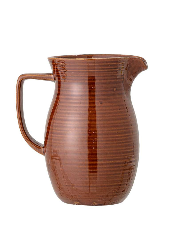Willow Stoneware Jug Terracotta