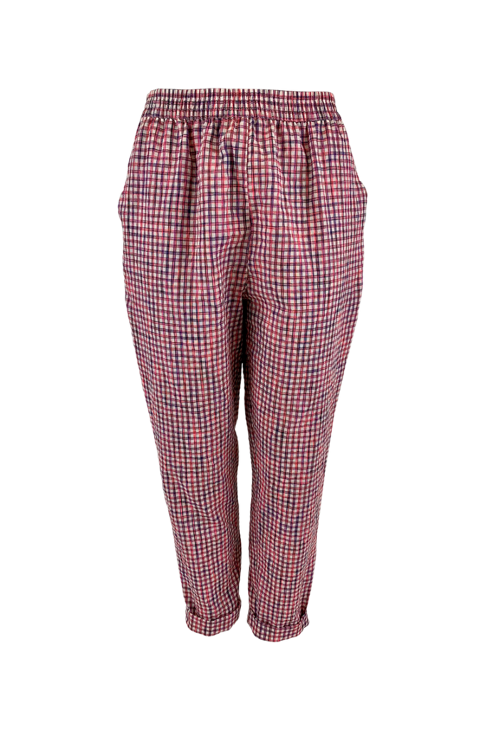 Ester Checkered Pants