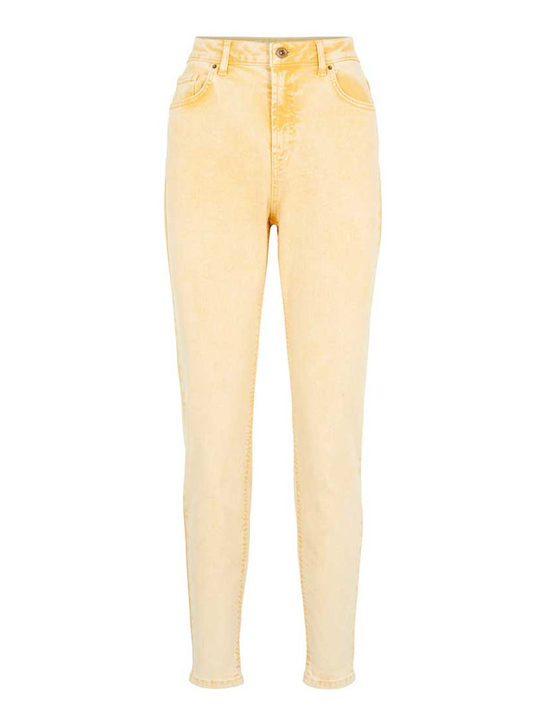 Leah Mom High Waisted Jeans Artisans Gold
