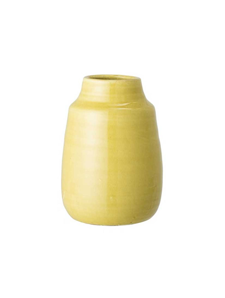 Deco Vase Yellow Terracotta