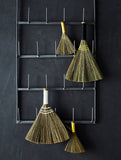Small Straw Broom Natural/Yellow