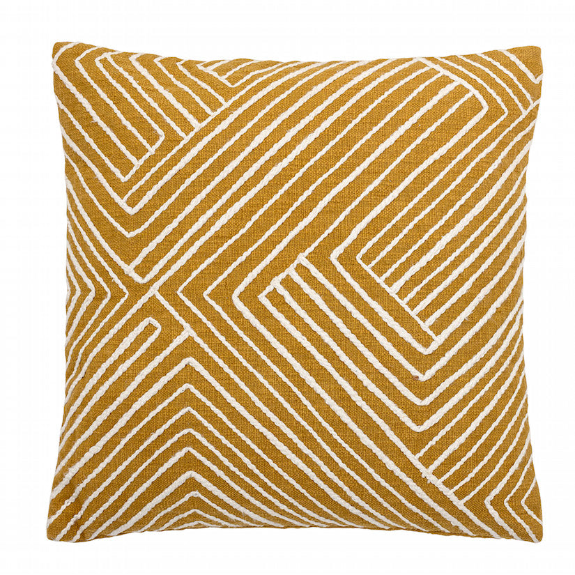 Cushion Yellow Cotton