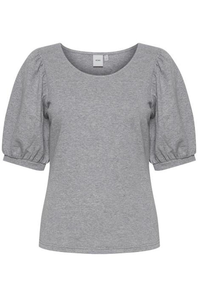 Yuna Top Grey Melange