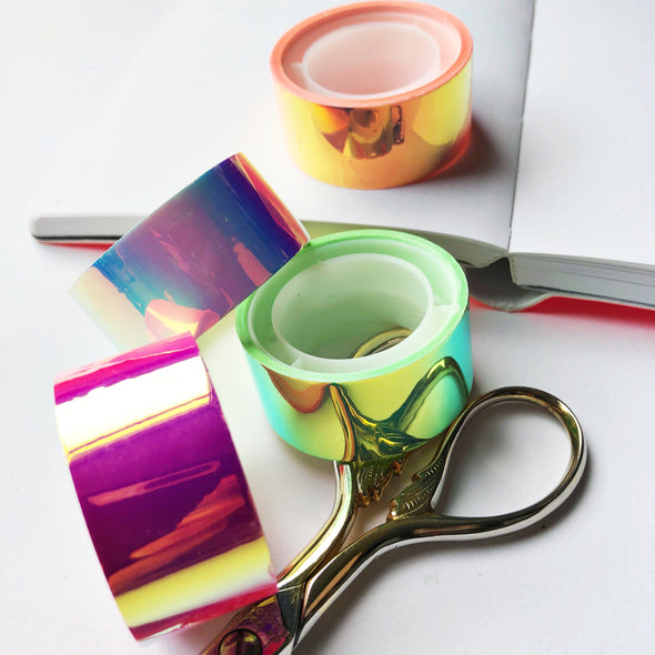 Holographic Mirror Tape