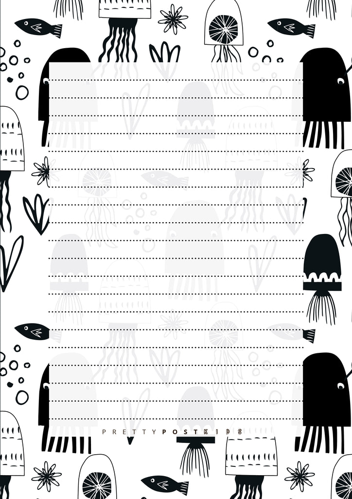 Kids Printable Letter Writing Set