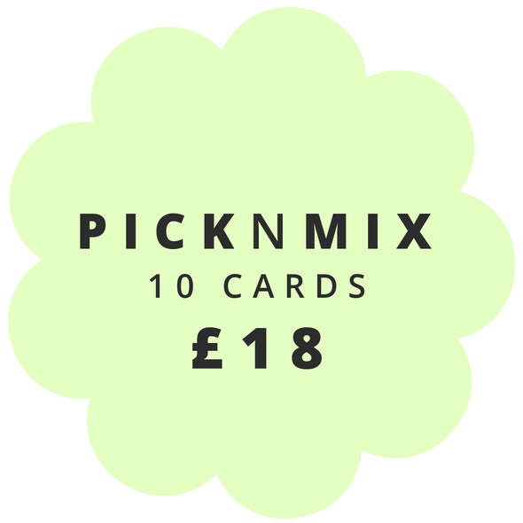 Card Pick 'n Mix - 10 cards