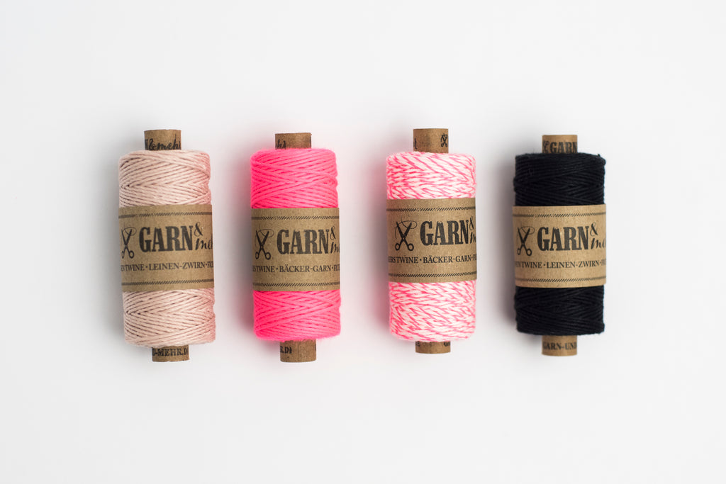 multi coloured bakers twine