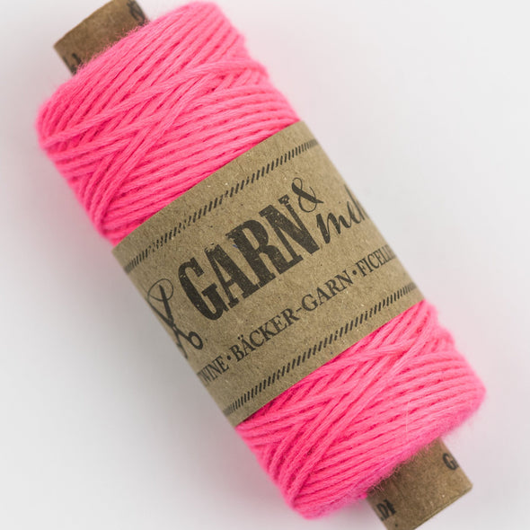 neon pink bakers twine