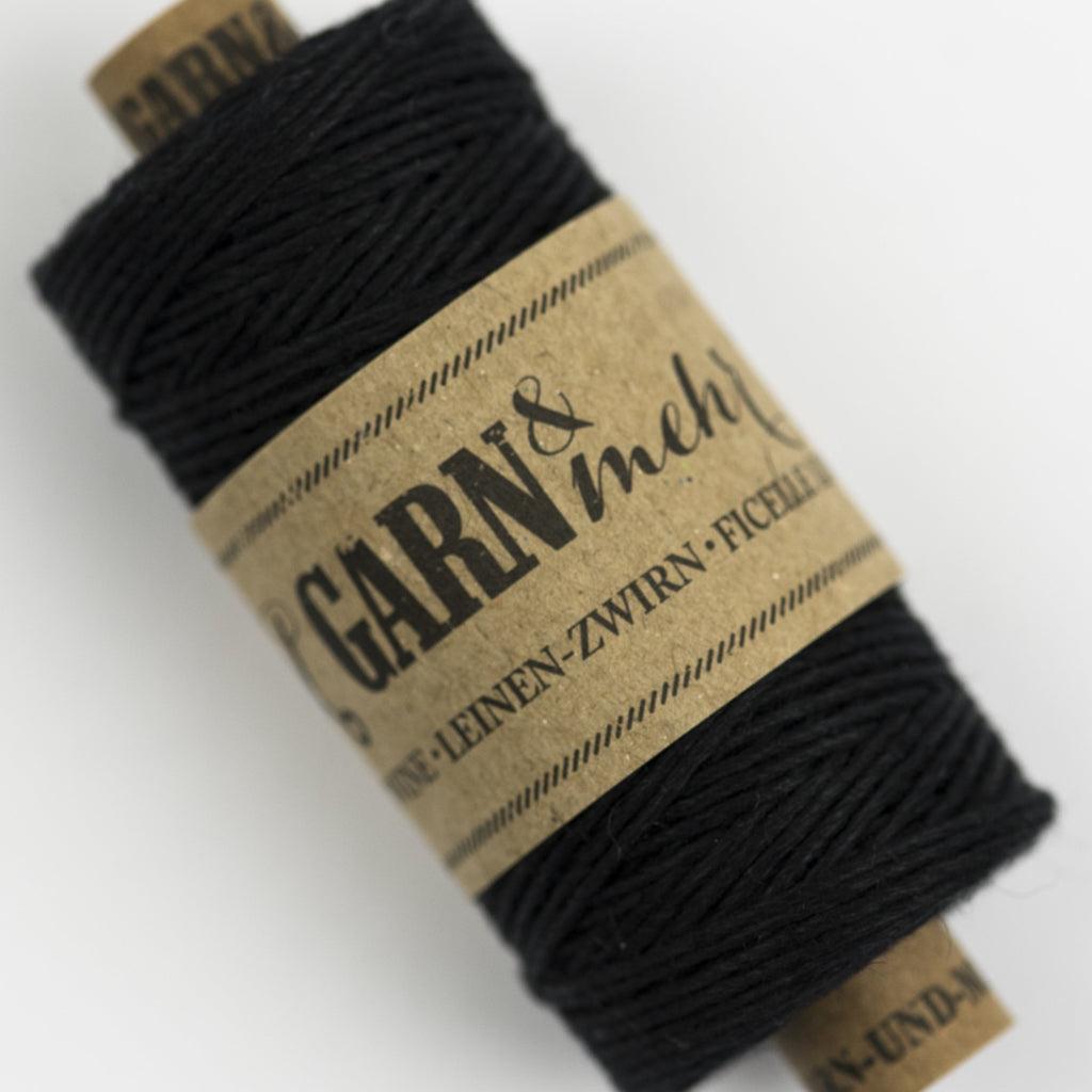 black linen bakers twine